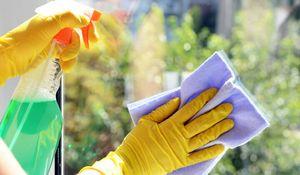 Reinigung Microfasertuch