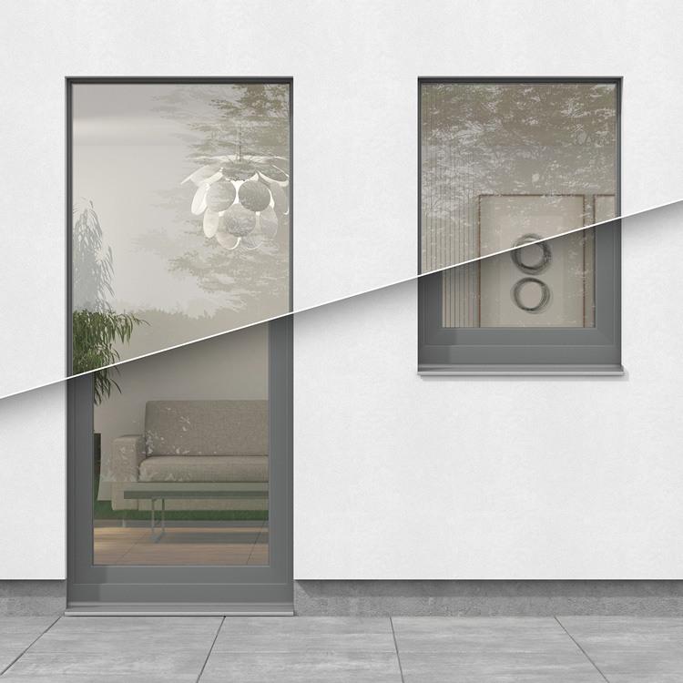 aluplast energeto® view im Vergleich zu herkömmlichen Fenstern