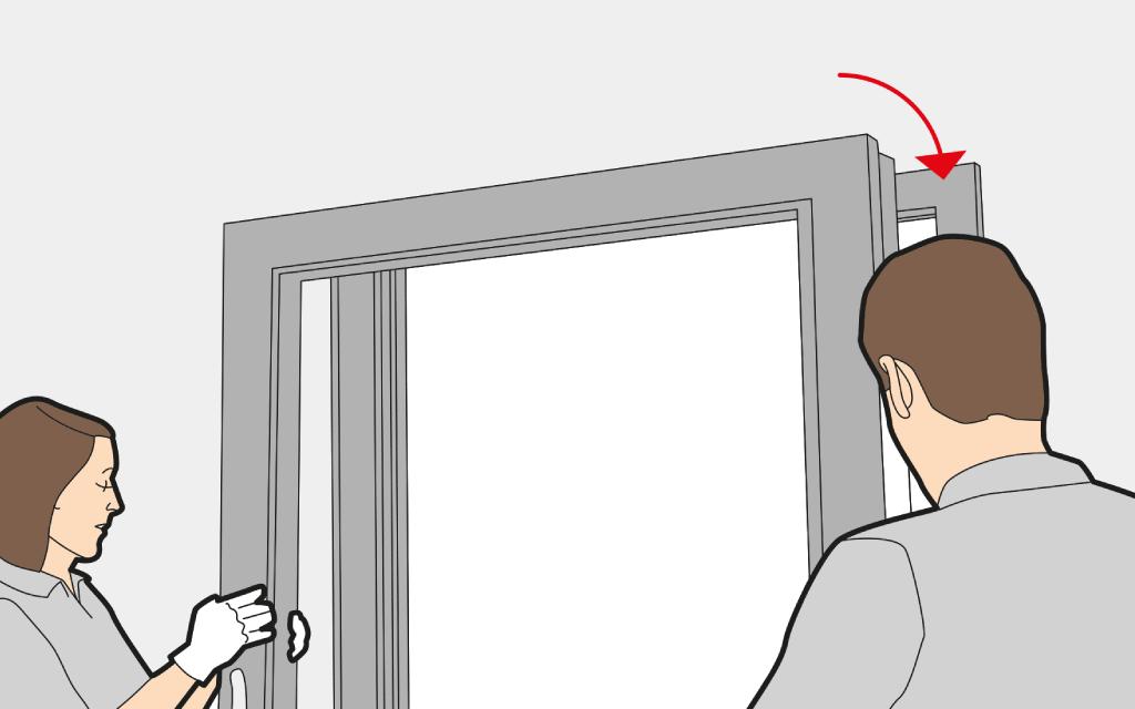 Balkont r einbauen anleitung mit video und bildern - Fenster justieren anleitung mit bildern ...