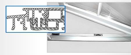 Balkontürschwelle konfigurieren