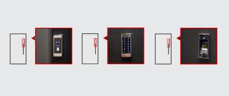 Haustür konfigurieren mit elektromechanischer Öffnung