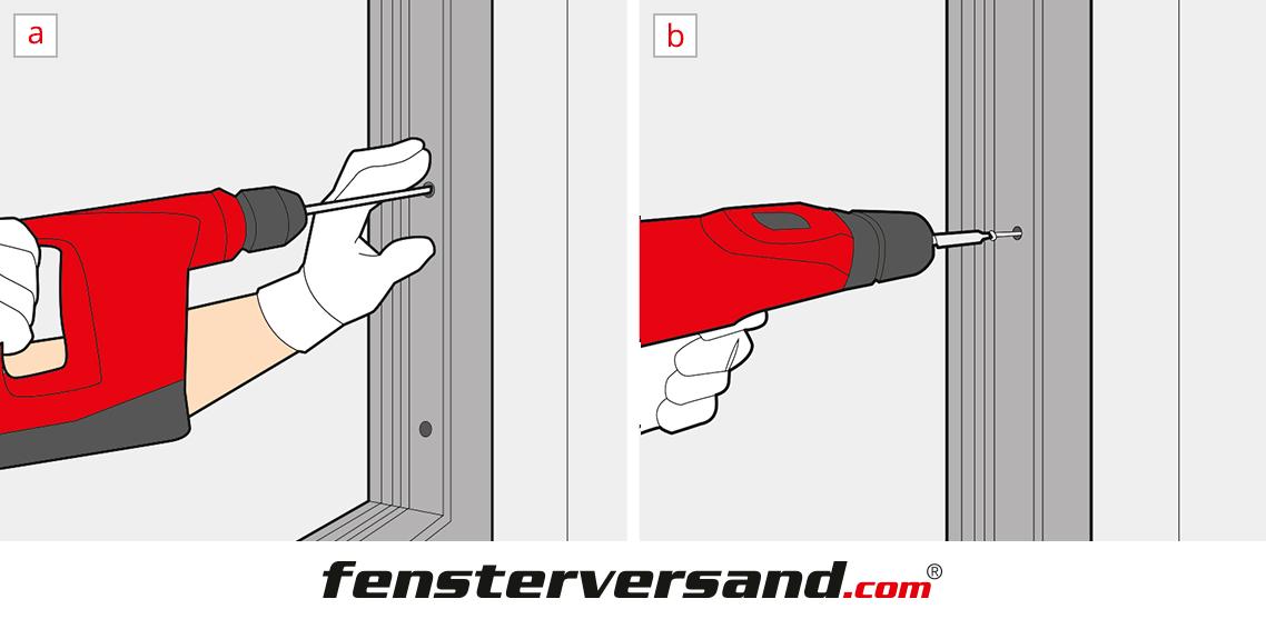 Haustür einbauen » 7 Schritte Anleitung Eingangstür Montage