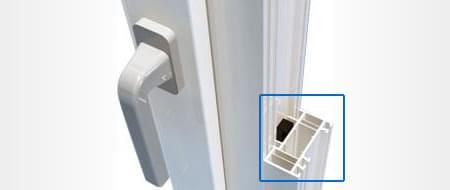 Rahmenverbreiterung für Fenster konfigurieren