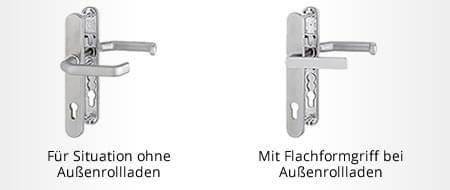 Türgetriebe für Balkontür konfigurieren