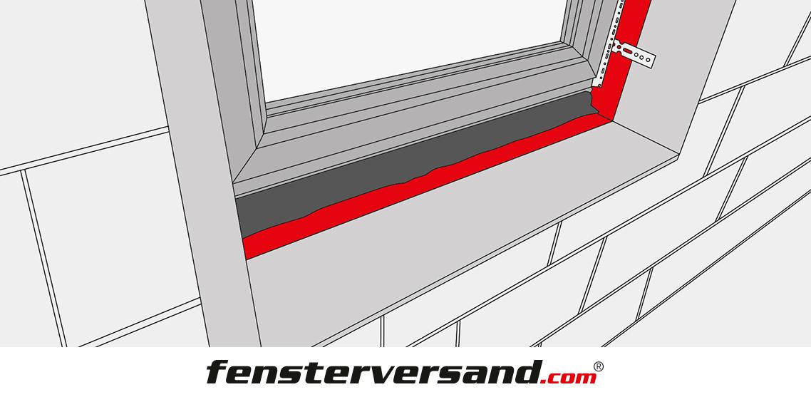 Holz Fensterbank Einbauen Anleitung ~ Vorbereitung Fensterbankeinbau