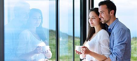 Verglasungsvarianten für Balkontüren