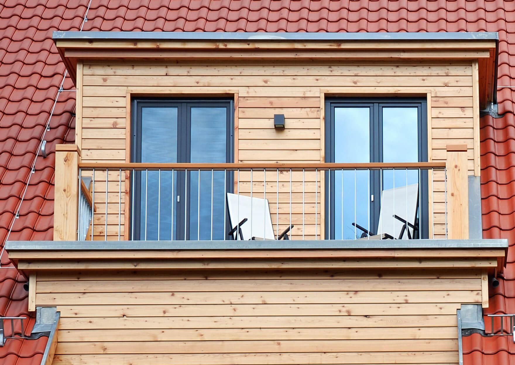 Balkontür zweiflügelig