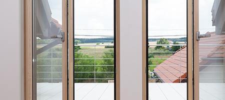 Modelle für Holz Balkontüren
