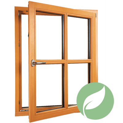 Holzfenster Energie