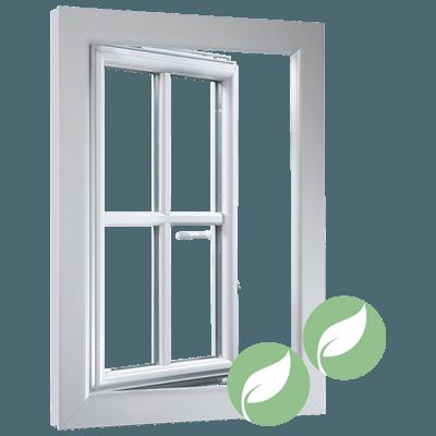 Isolierglasfenster Kunststoff 0,81 Uw