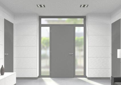 Eingangstüren mit seitenteil  Eingangstüren mit Oberlicht zu günstigen Preisen kaufen