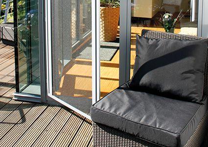 Insektenschutzgitter für Balkontür