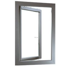 Fenster Kunststoff-Alu