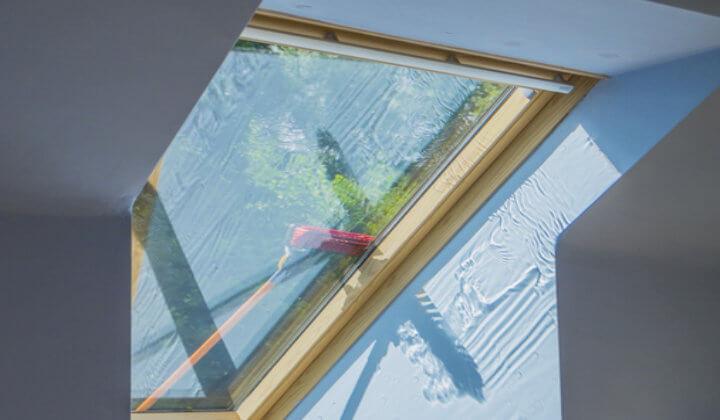 Dachfenster-reinigung