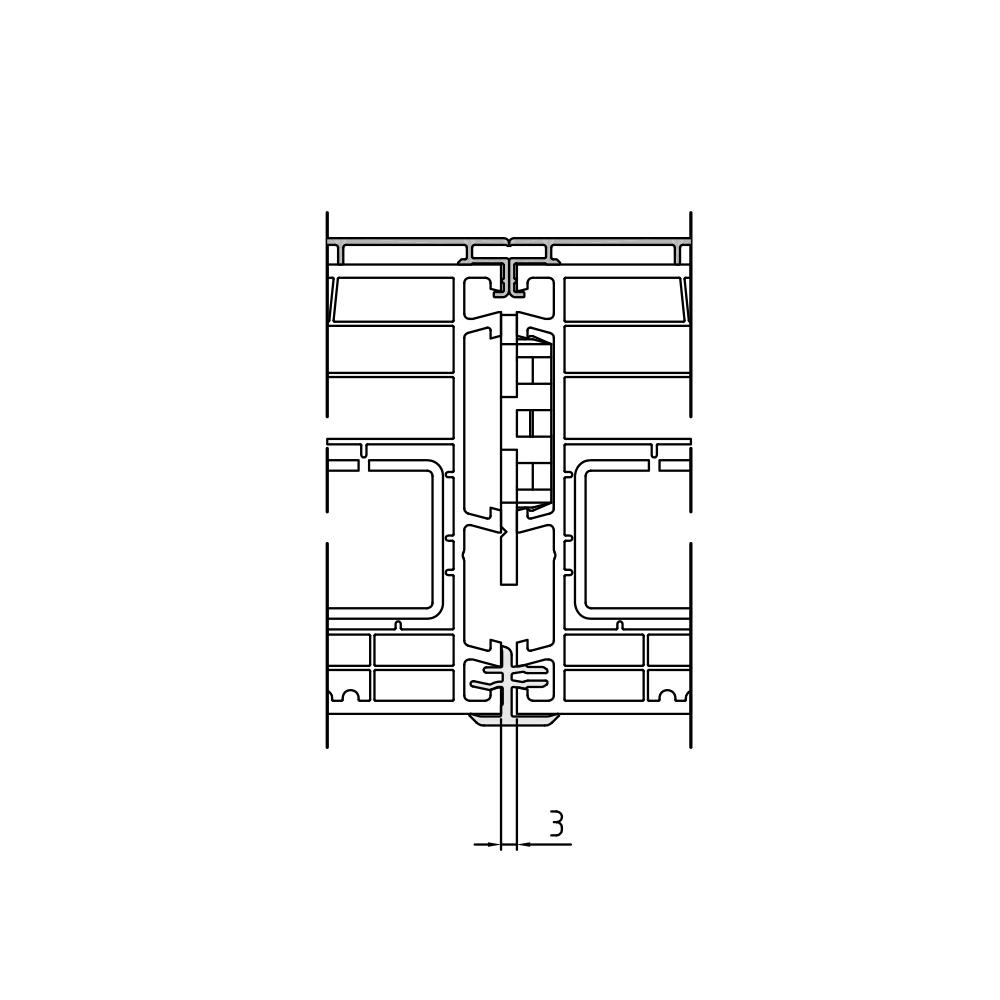 Kopplungsfeder Twinset 90 mm