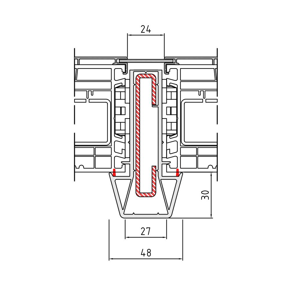 Statikkopplung 1 Energeto View - 75 mm