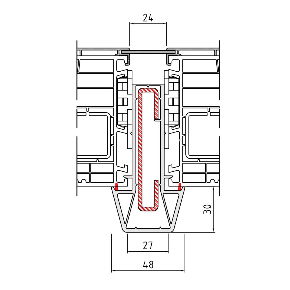 Statikkopplung 1 Twinset - 90 mm