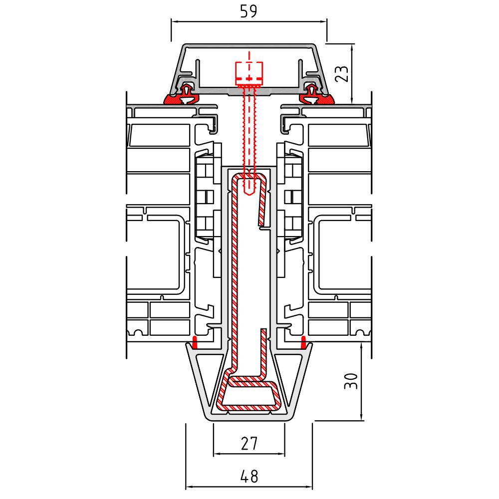 Statikkopplung 2 Twinset - 90 mm
