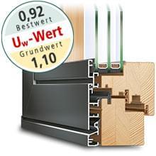 Holz-Alu Fenster Idealu