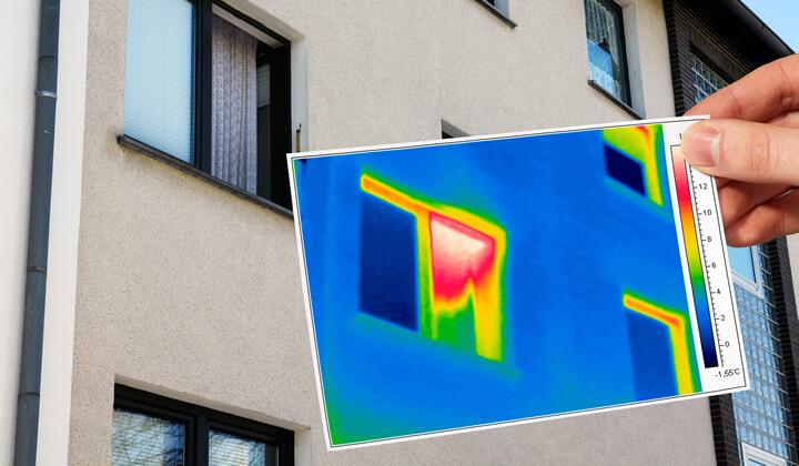 Messung Energieverlust am Fenster