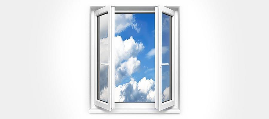 Fenster mit 2 Flügeln