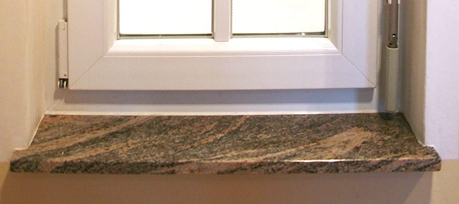 Marmor Fensterbank innen und außen auf Maß online kaufen