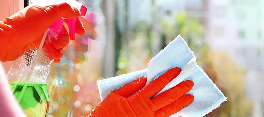 Benetzbarkeit durch Reinigung wiederherstellen
