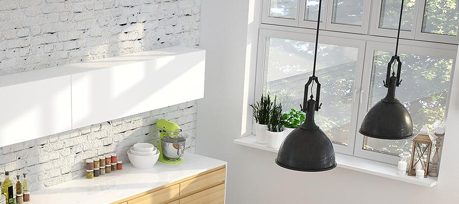 Moderne fenster innen  Granit Fensterbank » Moderne Fensterbänke aus Granit