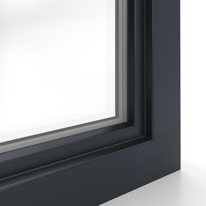 Kunststofffenster anthrazit innen  Kunststofffenster Farben » viele Dekore & RAL Farben