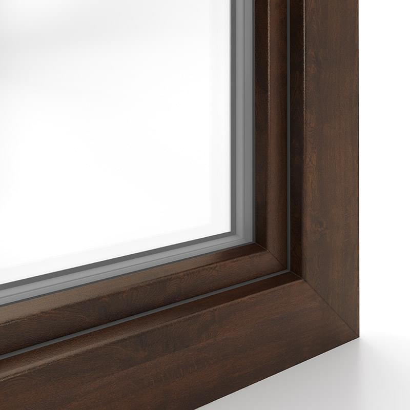 Kunststofffenster holzdekor weiß  Kunststofffenster Farben » viele Dekore & RAL Farben