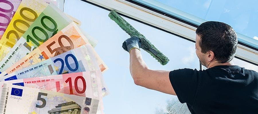 Fenster putzen kosten putzen lassen zu fairen preisen - Fenster putzen material ...