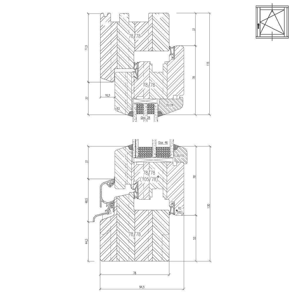 Holz-Classic-iv78-Profilschnitt
