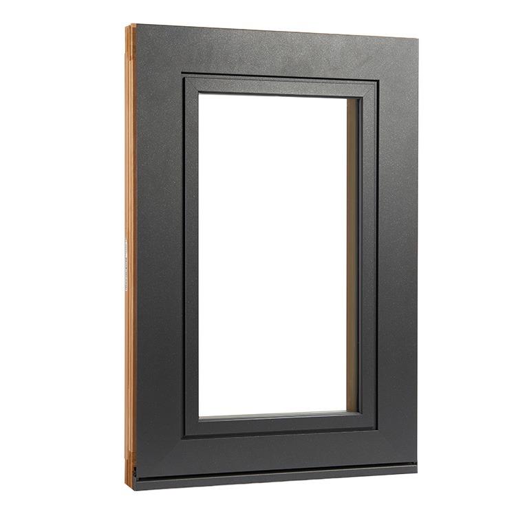 Fenster Plano aus Holz-Alu Außenansicht