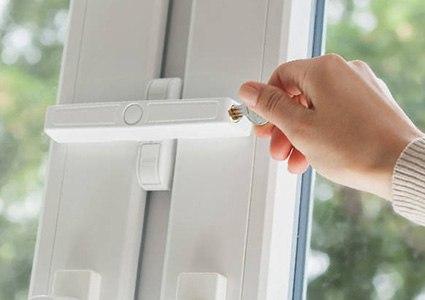 Fenstersicherung gegen Aufhebeln