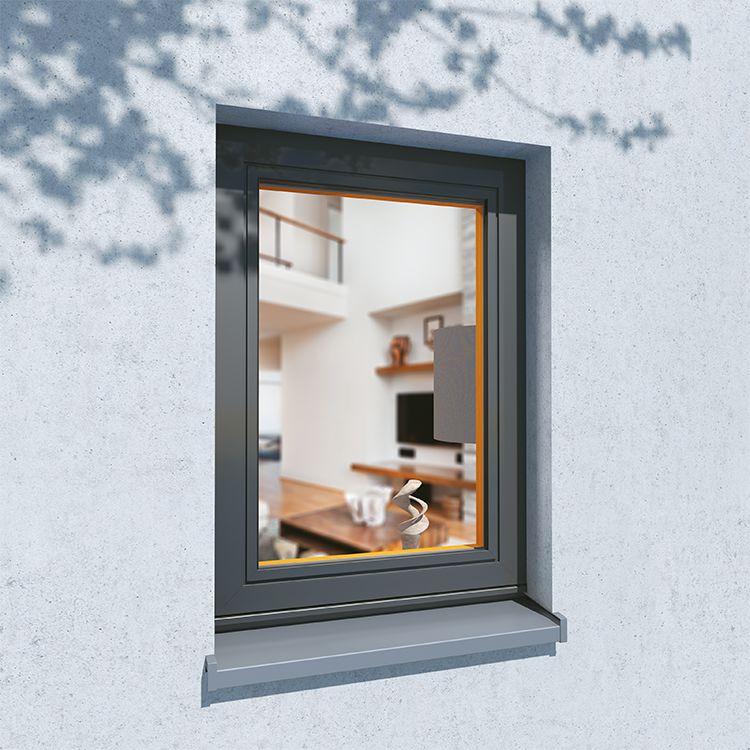 Fenster flächenbündig Profil Plano