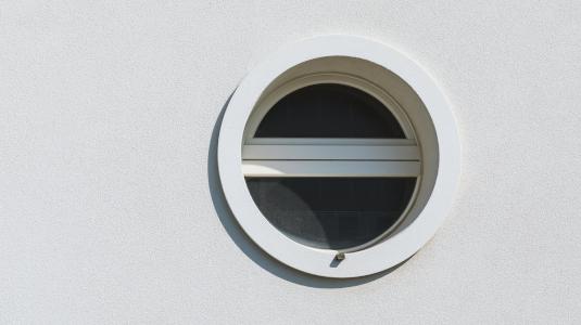 Rundfenster Kipp außen