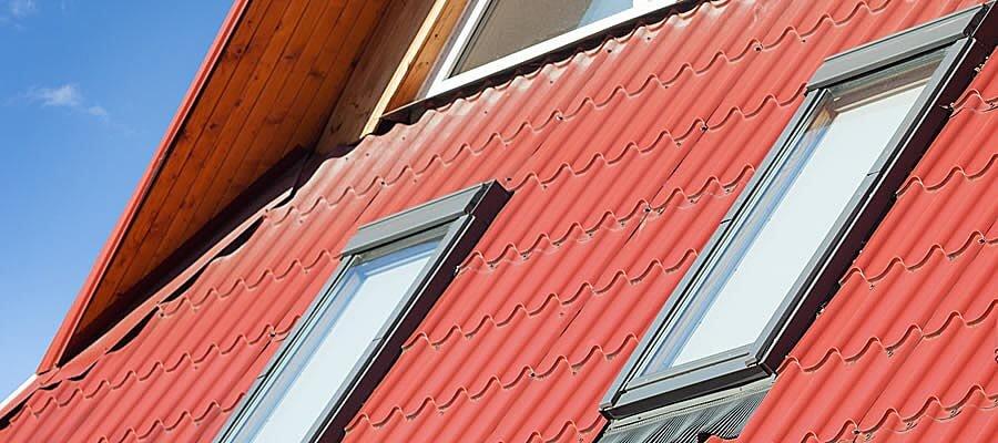 Dachfenster Holz Außenansicht