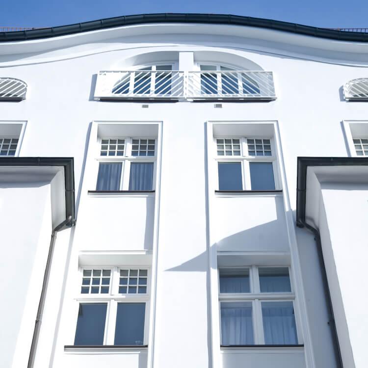 Fenster mit Doppelflügel