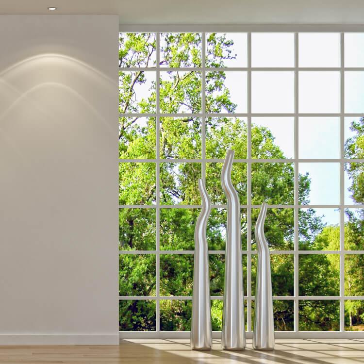Moderne Sprossenfenster