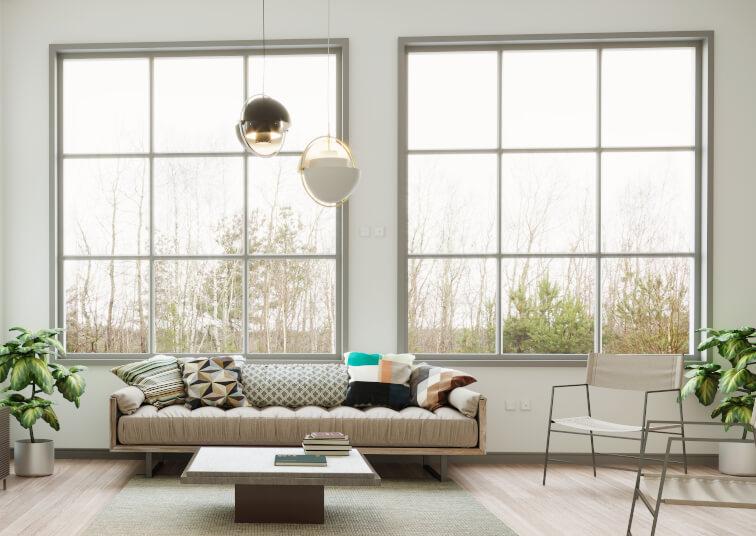 Sprossenfenster modern