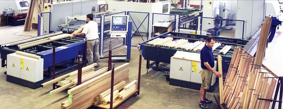 Unsere Holzfensterproduktion