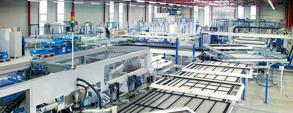 Unser Kunststofffensterproduktion  - europaweit die modernste