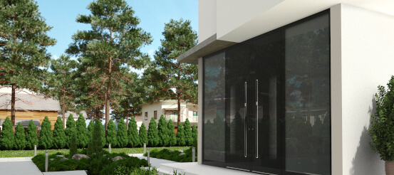 Energieeffiziente Alu Haustüren