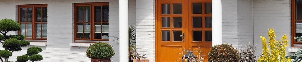 Haustür Doppelflügel
