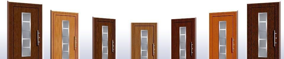 Haustüren Holzarten
