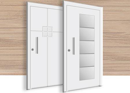 Eingangstüren holz glas  Hauseingangstüren » Eingangstüren zu günstigen Preisen