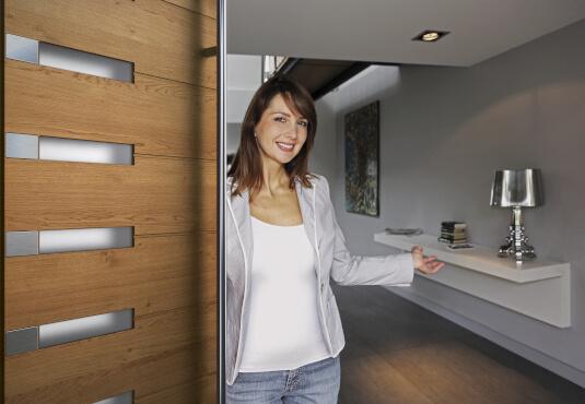 Anforderungen an Holz Haustüren