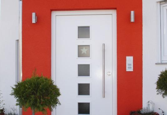 Haustüren aus Vollholz
