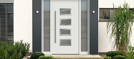 Kunststoff Haustüren mit guter Dämmung