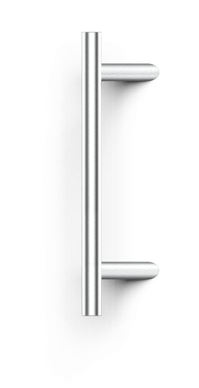 Stangengriff mit schräger Stütze